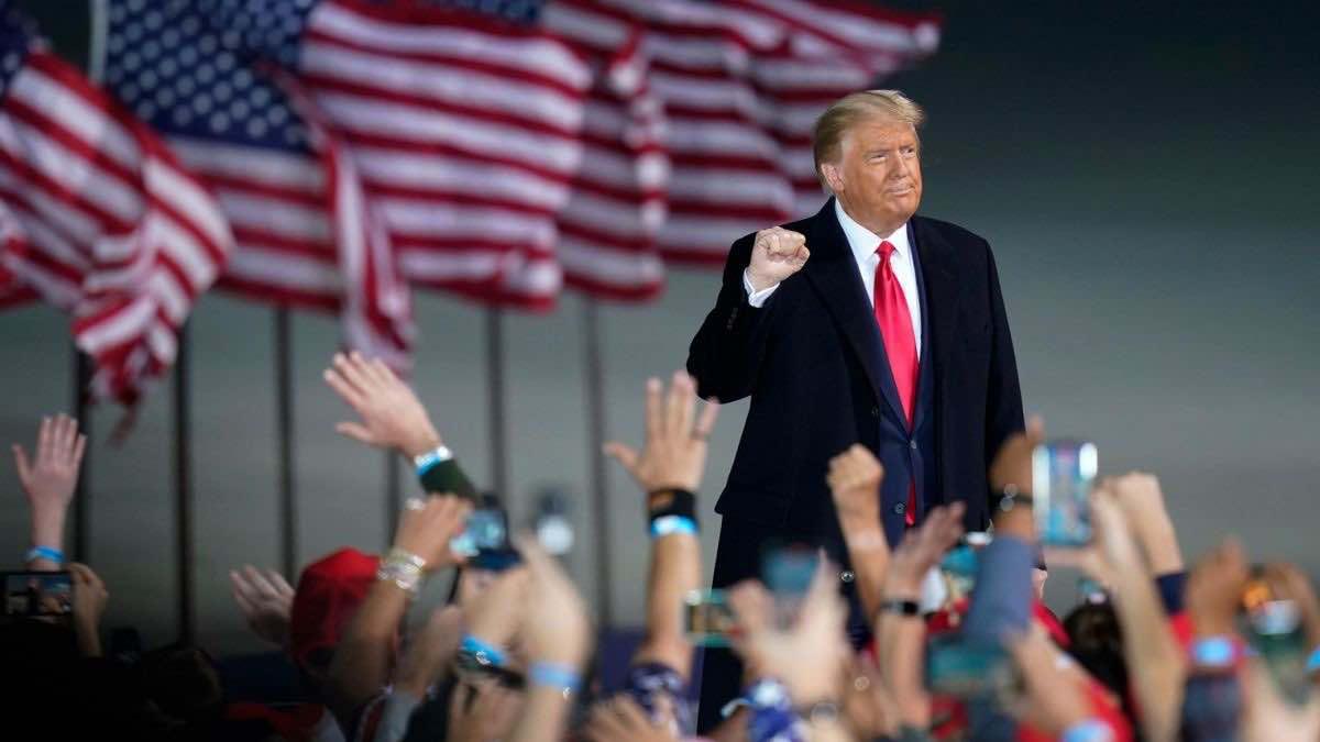 Trump in campagna elettorale