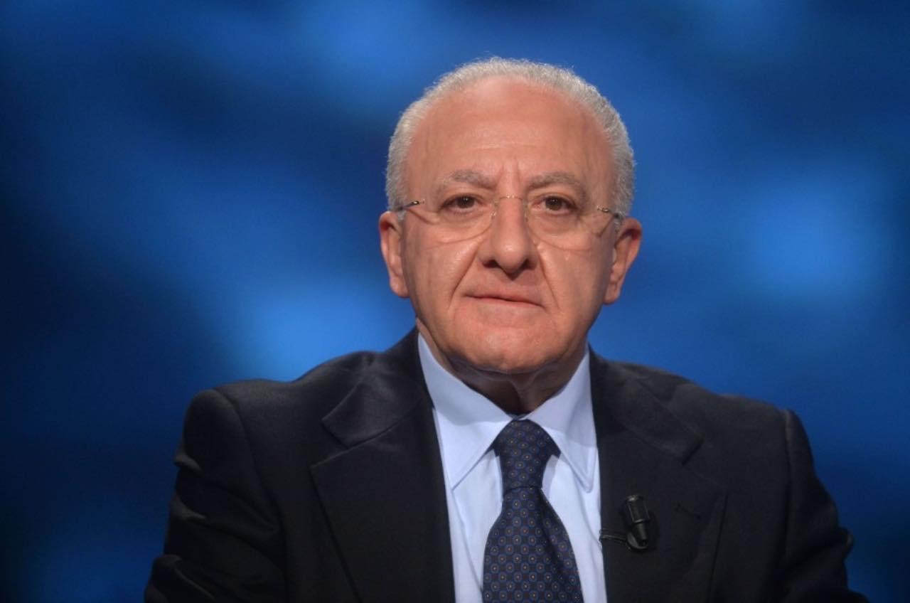 deluca Presidente Campania