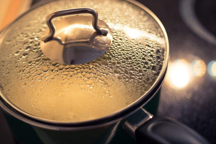Come riutilizzare l'acqua di cottura