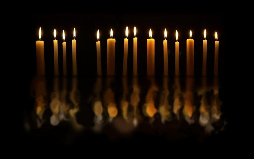 candele ognissanti