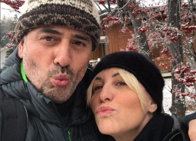 Vittorio Garrone e Antonella Clerici