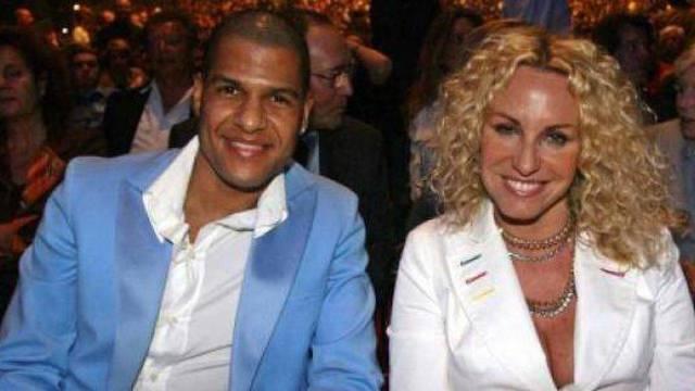 Antonella Clerici e Eddy