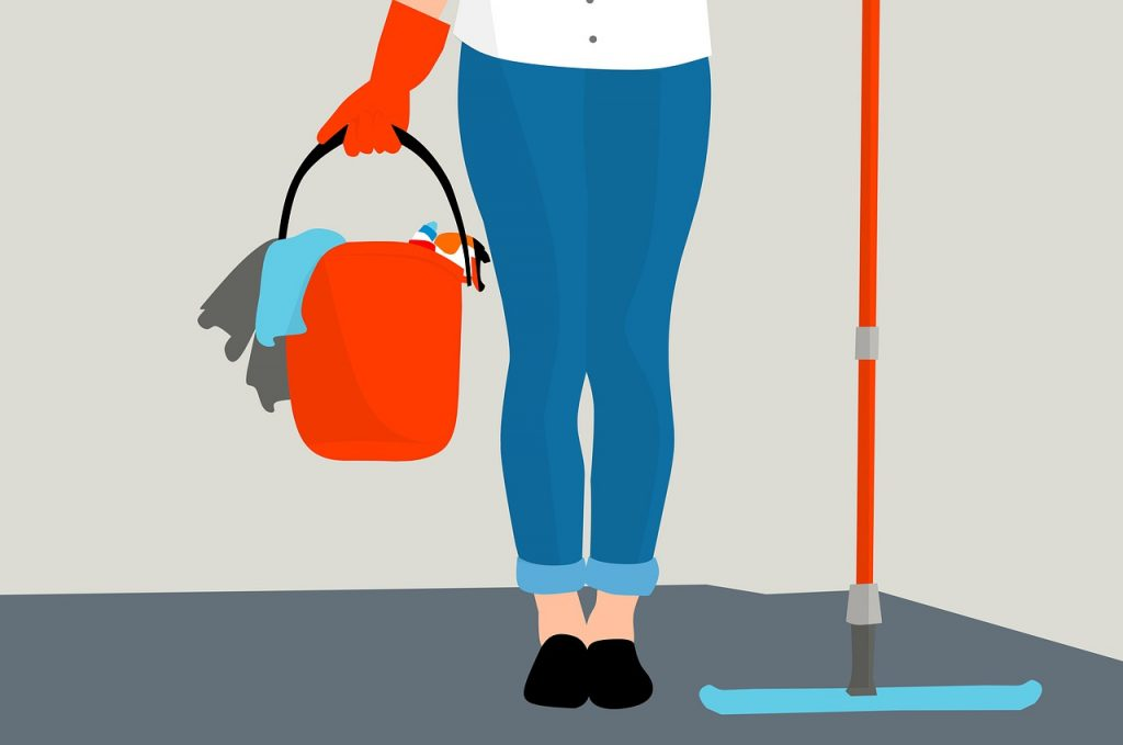Segreto per pulire i pavimenti