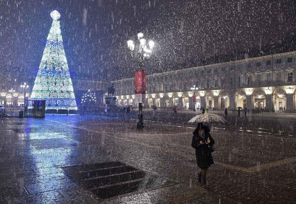 natale neve città
