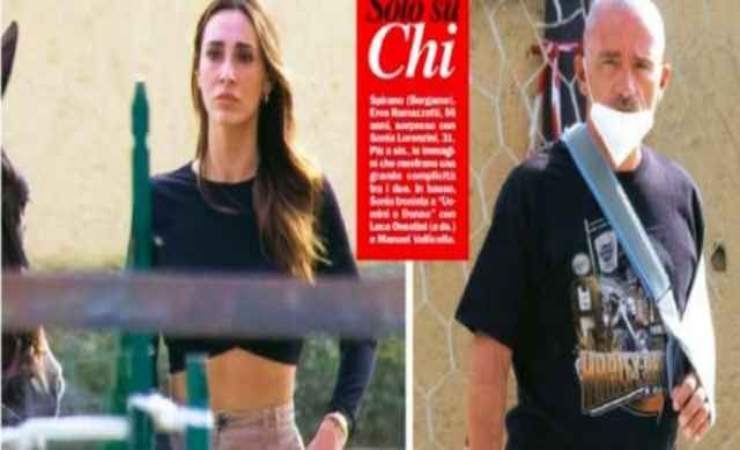 Sonia Lorenzini Eros Ramazzotti - Solonotizie24