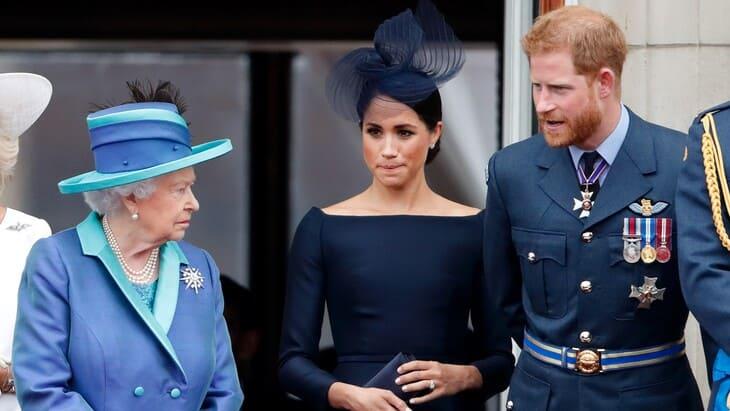 La Regina Elisabetta, Meghan e Harry
