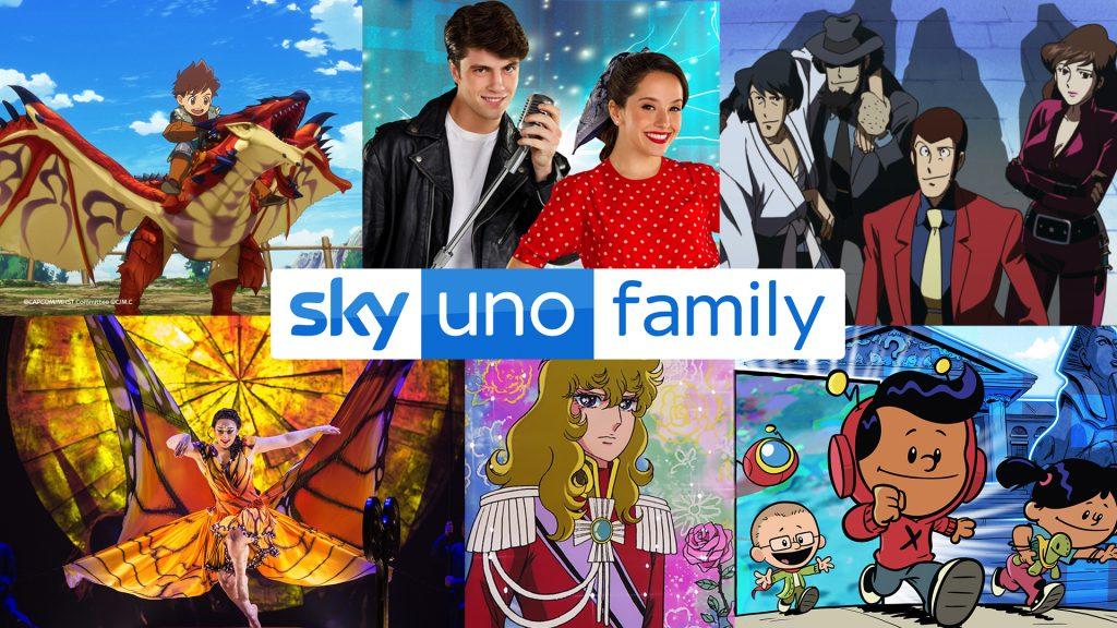 La programmazione di Sky Uno Family a Natale