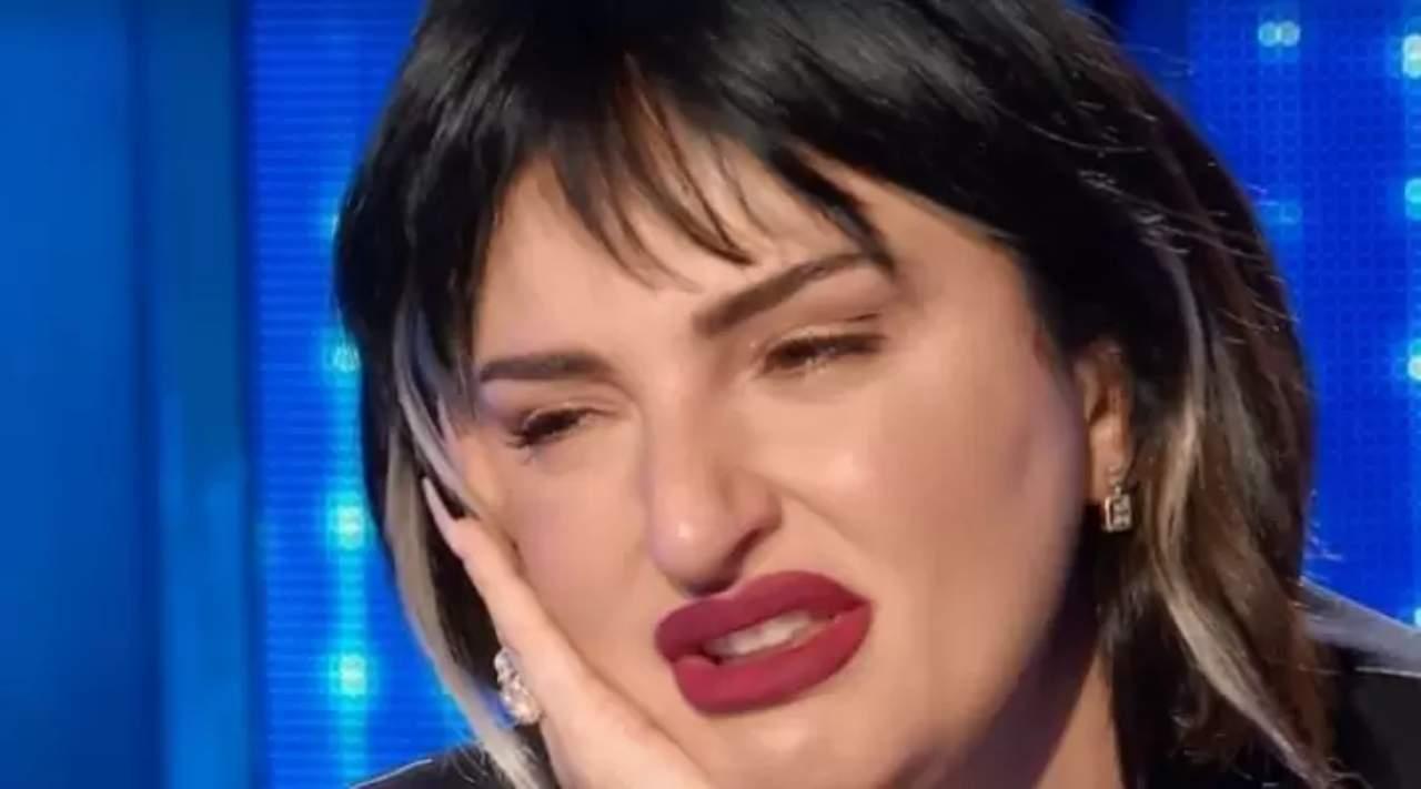 Arisa lacrime Domenica In - Solonotizie24