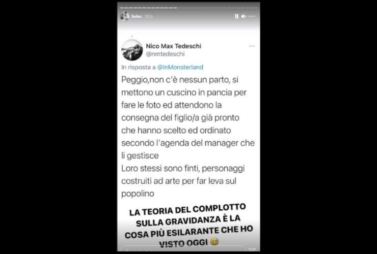 Fedez gravidanza Ferragni - Solonotizie24