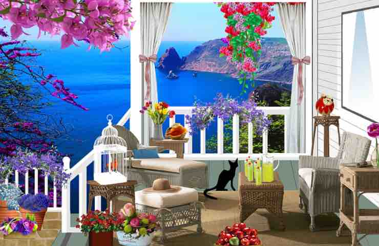 abbellire balcone