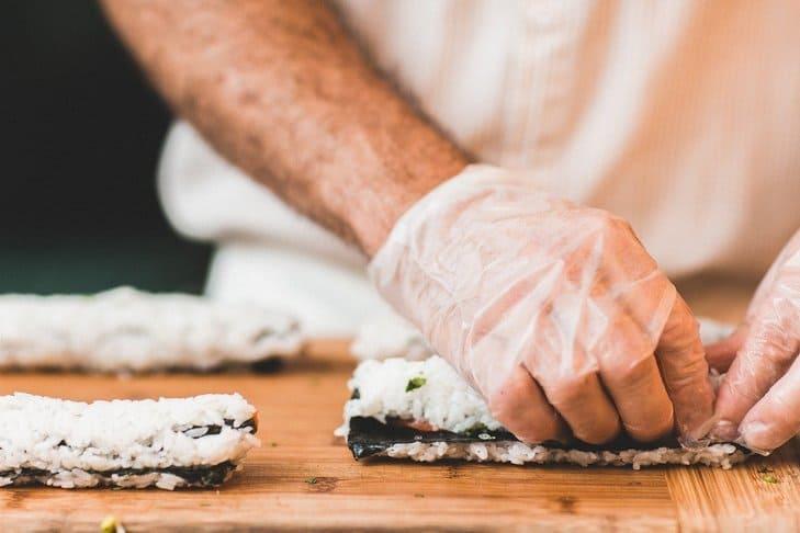 sushi preparare