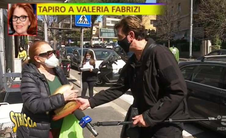 Valeria Fabrizi tapiro - Solonotizie24