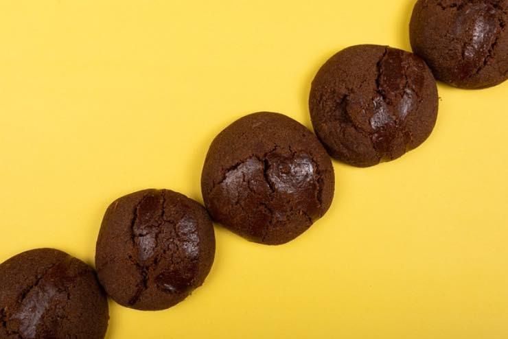 biscotti al cacao fit