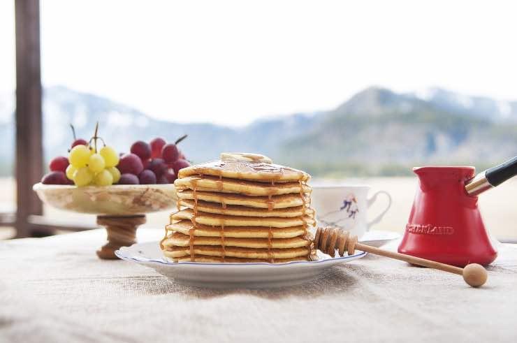 pancake senza bilancia