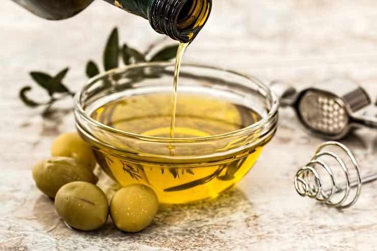 maschere all'olio d'oliva