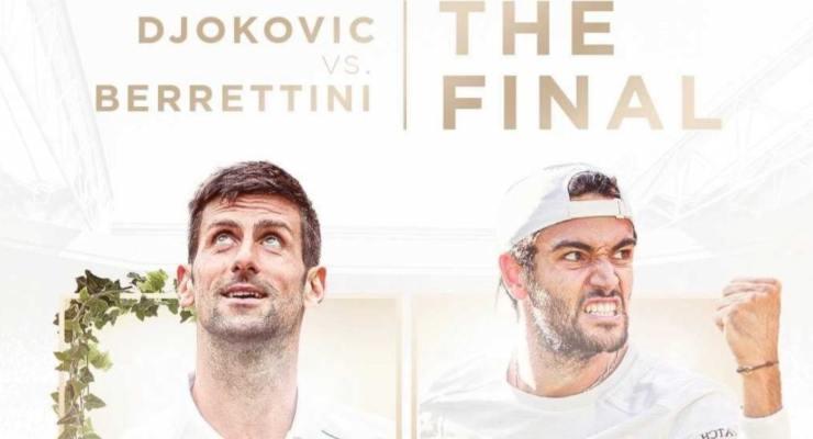 Finale Berrettini - Djokovic