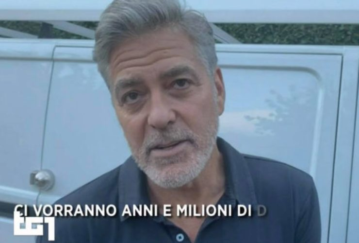 George Clooney dramma casa Como - Solonotizie24