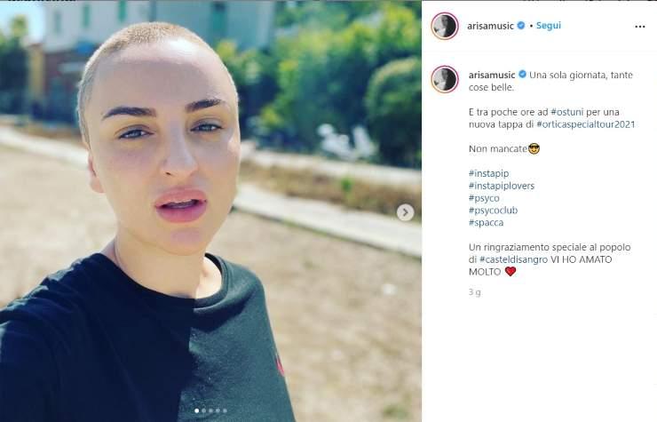 Arisa cambio look Federico Fashion Style - Solonotizie24