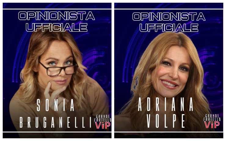 Sonia Bruganelli Adriana Volpe scontri - Solonotizie24
