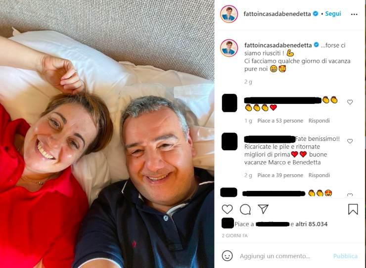 Benedetta Rossi e il marito - Solonotizie24