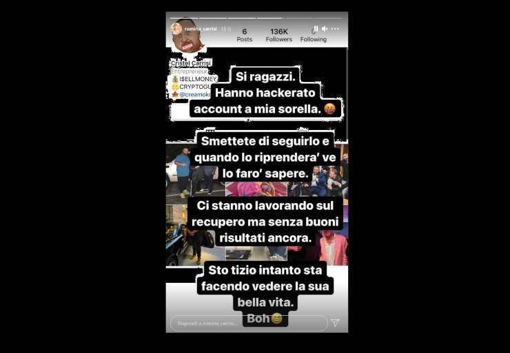 Cristel Carrisi furto - Solonotizie24
