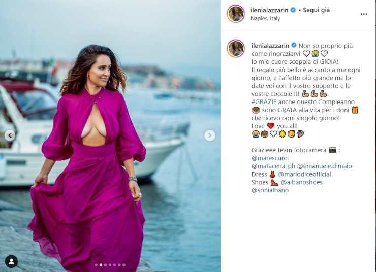 Ilenia Lazzarin svolta sexy - Solonotizie24