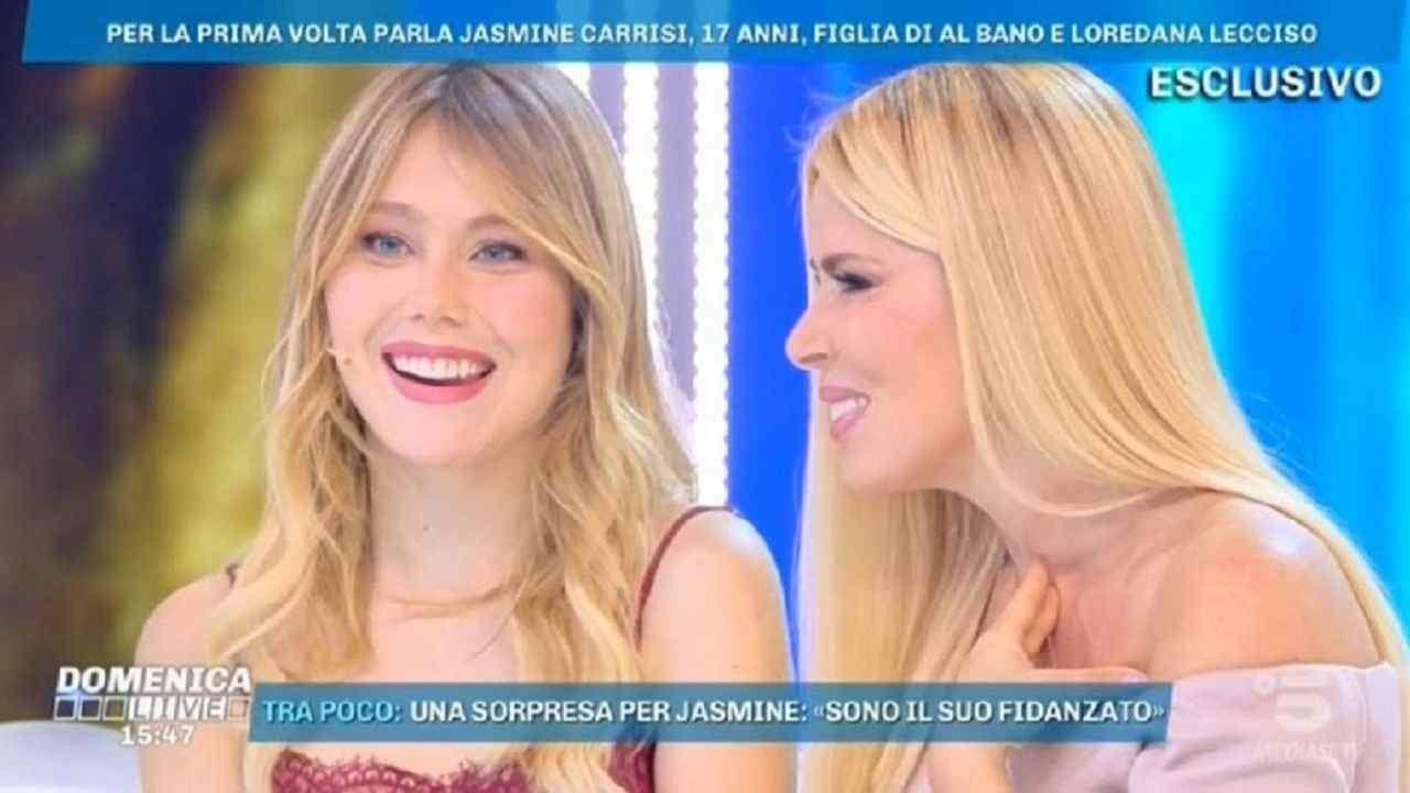 Ritocchino Jasmine Carrisi - Solonotizie24