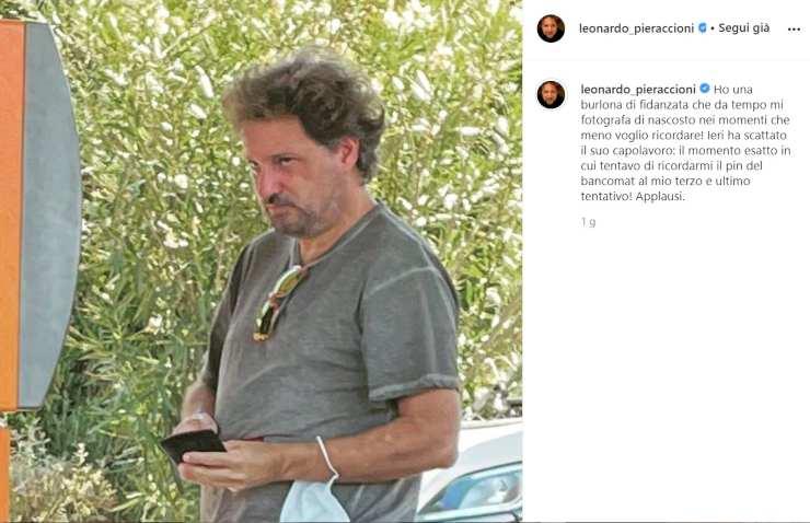 Leonardo Pieraccioni fidanzata - Solonotizie24